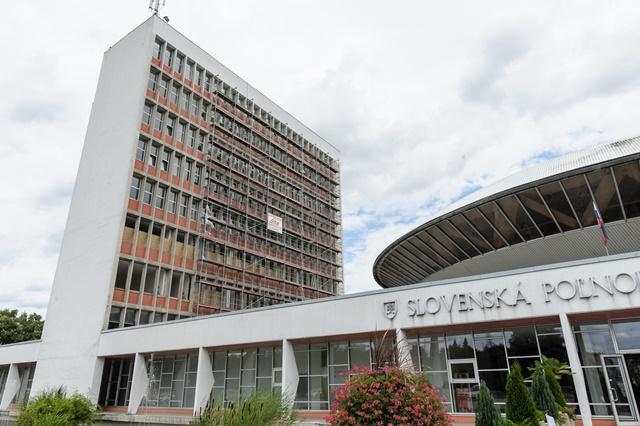 Na snímke budova Slovenskej poľnohospodárskej univerzity