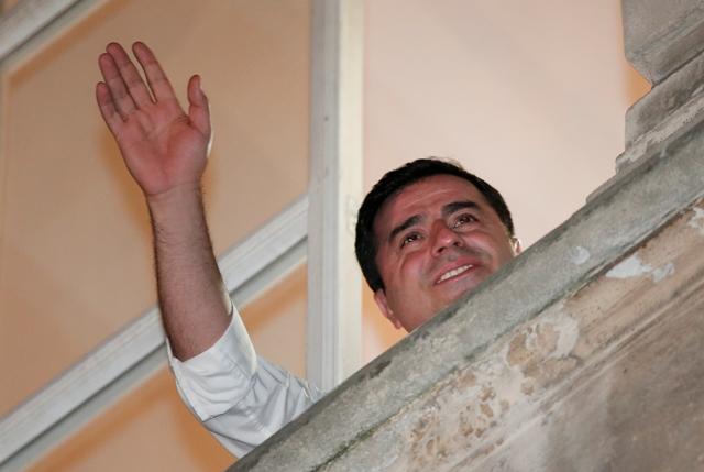 Líder prokurdskej Ľudovodemokratickej strany (HDP) Selahattin Demirtaš