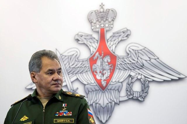 Na snímke ruský minister obrany Sergej Šojgu