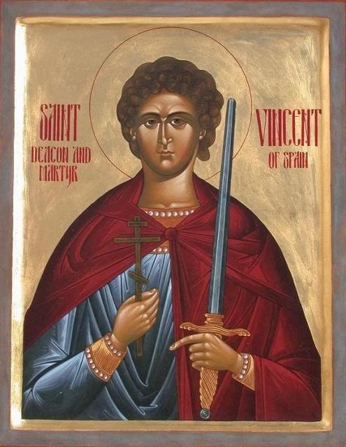 Ikona svätého Vincenta