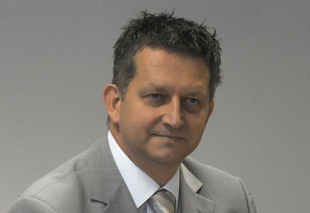 Na snímke poslanec NR SR Tibor Bastrnák