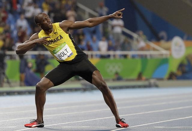 Jamajský bežec Usain Bolt