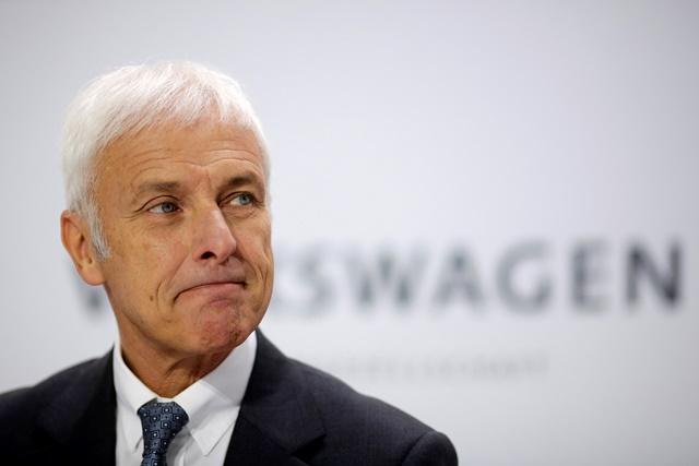 Na snímke šéf koncernu Volkswagen Matthias Müller