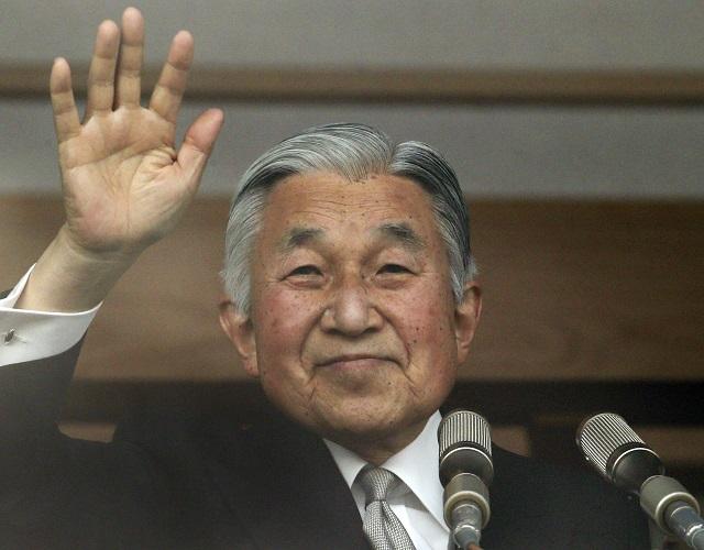Japonský cisár Akihito