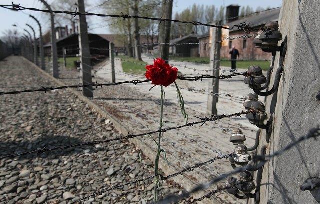 Na snímke koncentračný tábor Auschwitz-Birkenau