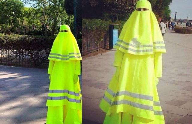 Takto vyzerá bezpečnostná burka