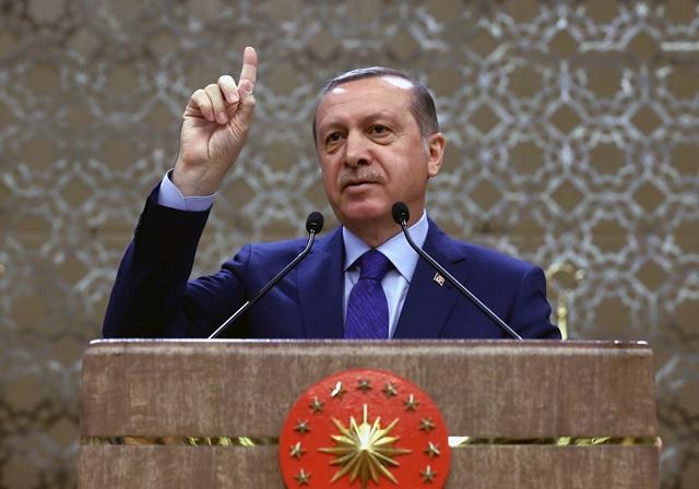 Na snímke turecký prezident Recep Tayyip Erdogan. Foto: Yasin Bulbul