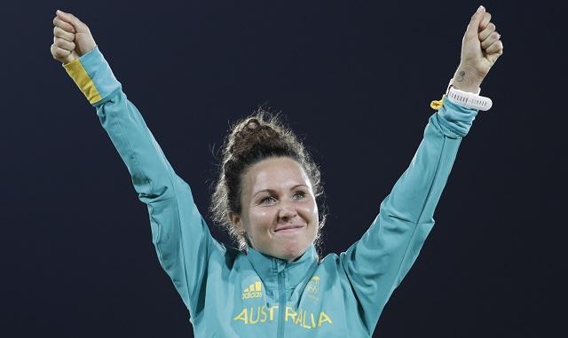 Austrálčanka Chloe Espositová sa stala novou olympijskou šampiónkou v modernom päťboji na OH v Riu de Janeiro 19. augusta 2016