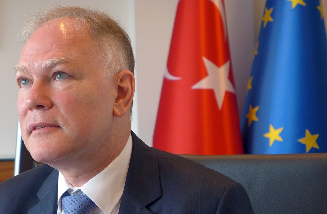 Turecký veľvyslanec pri Európskej únii Selim Yenel