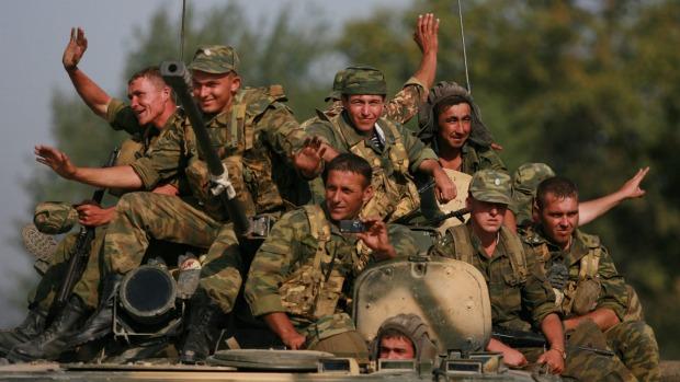 Ruská armáda v Gruzínsku