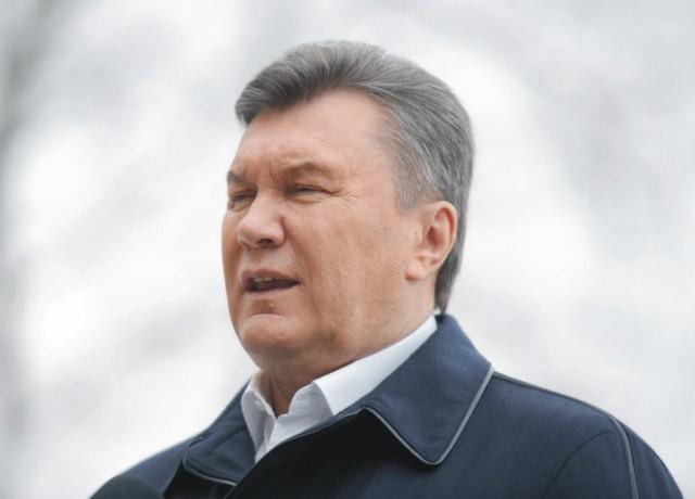 Ukrajinský exprezident Viktor Janukovič
