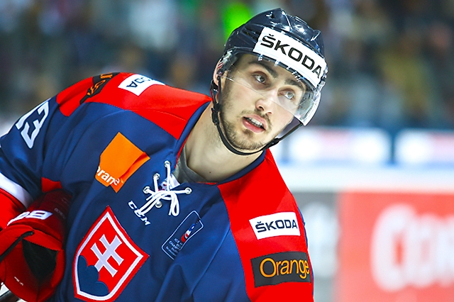 Na snímke útočník Tomáš Jurčo