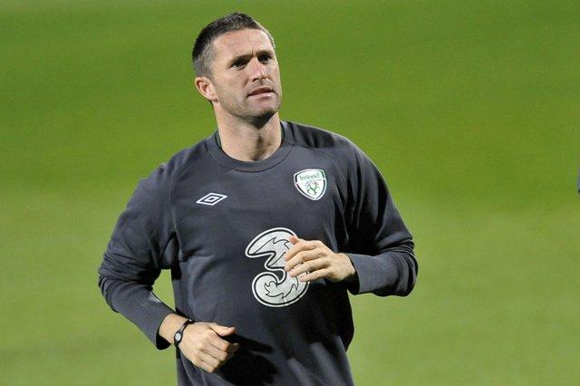 Na snímke Robbie Keane