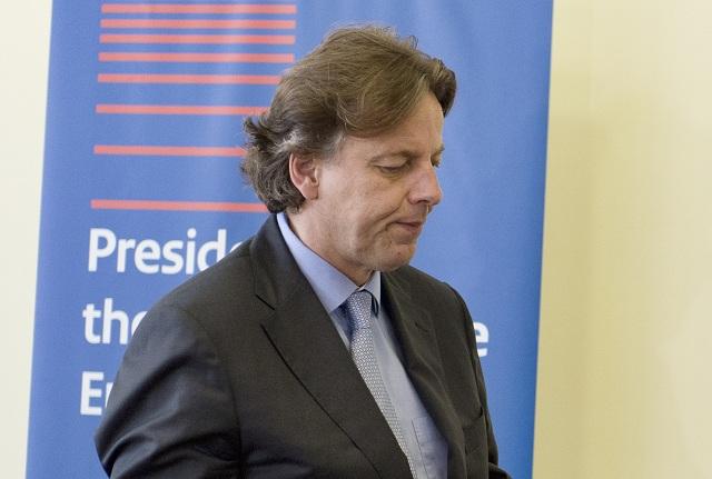 Na archívnej snímke minister zahraničných vecí Holandska Bert Koenders
