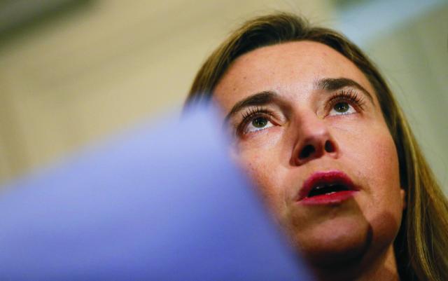 Šéfka diplomacie EÚ Federica Mogheriniová