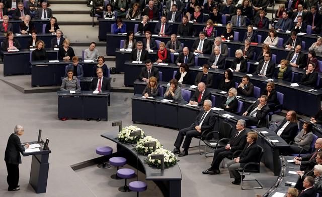 Na snímke členovia nemeckej vlády
