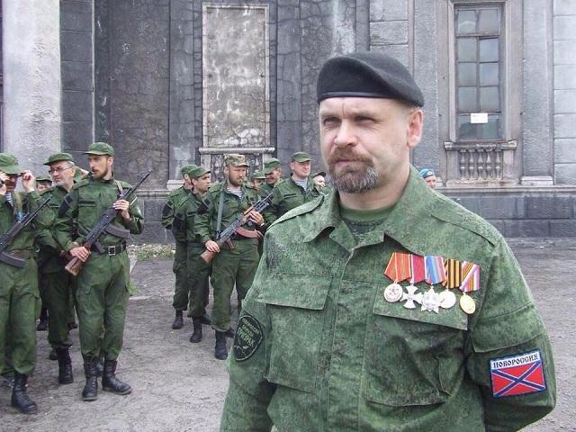 Na archívnej snímke veliteľ Alexander Mozgovoj