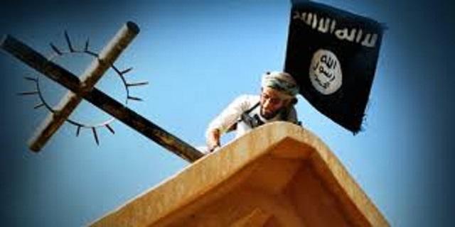 Snímka, ktorá sa objavila na titulnej strane propagandistického časopisu Islamského štátu Dabiq