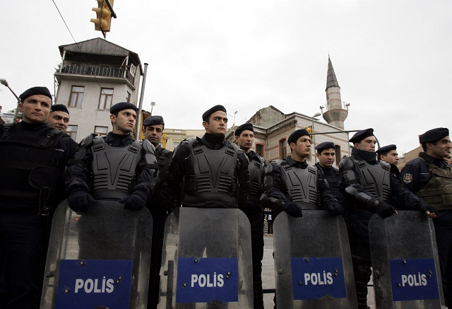 Turecké bezpečnostné sily
