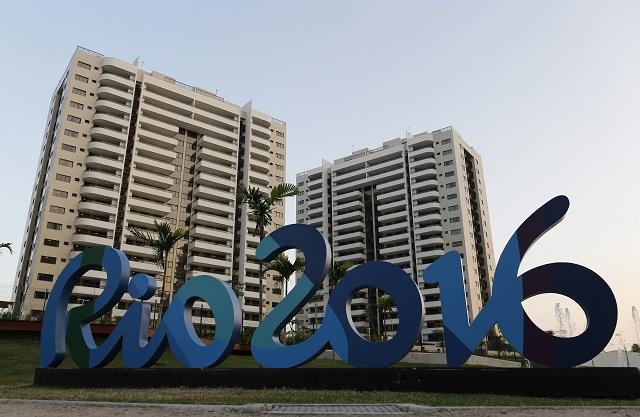 Budovy olympijskej dediny v  Rio de Janeiro
