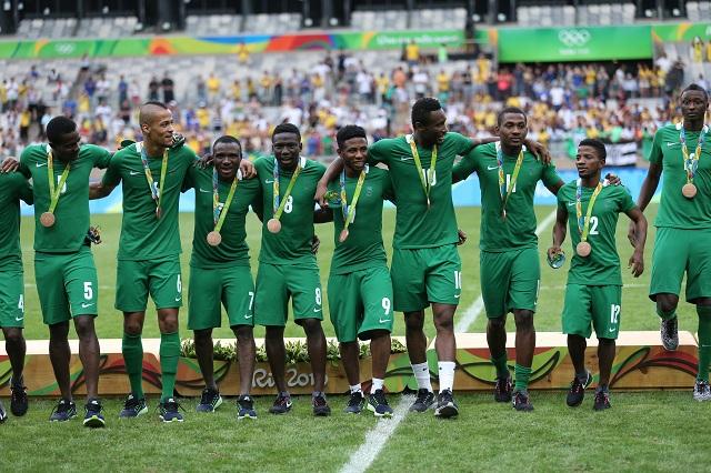 Futbalisti Nigérie získali bronzovú medailu v súboji o 3. miesto proti Hondurasu na OH v Belo Horizonte 20. augusta 2016