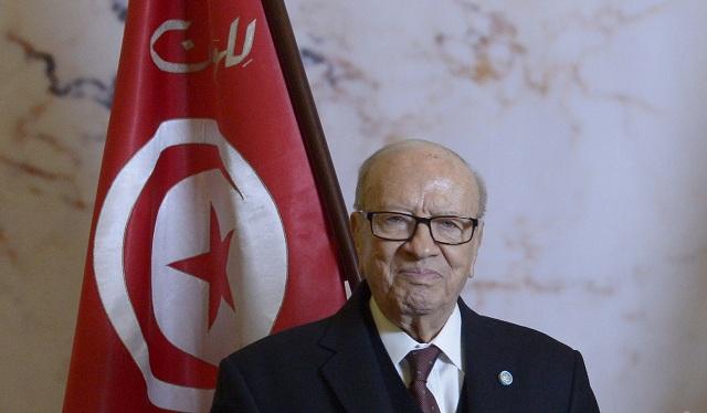 Tuniský prezident Bádží Káid Sabsí