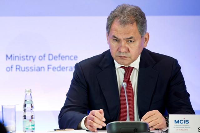 Na snímme ruský minister obrany Sergej Šojgu