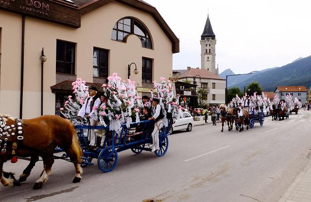 Ilustračné foto: Tradičný vozový sprievod