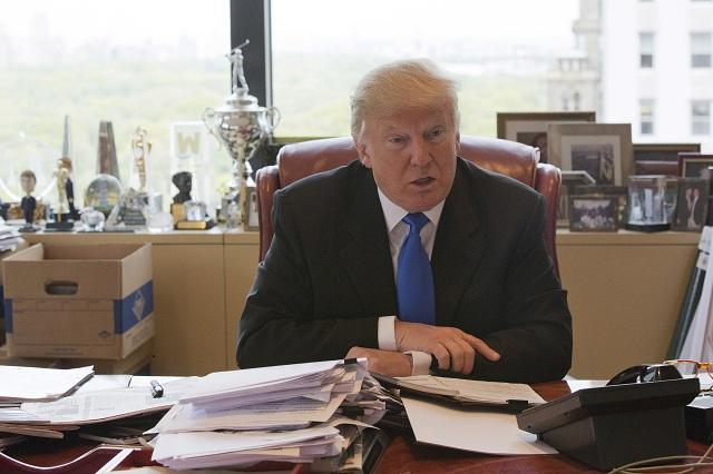 Republikánsky prezidentský kandidát Donald Trump