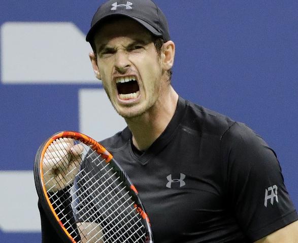 Na snímke Brit Andy Murray