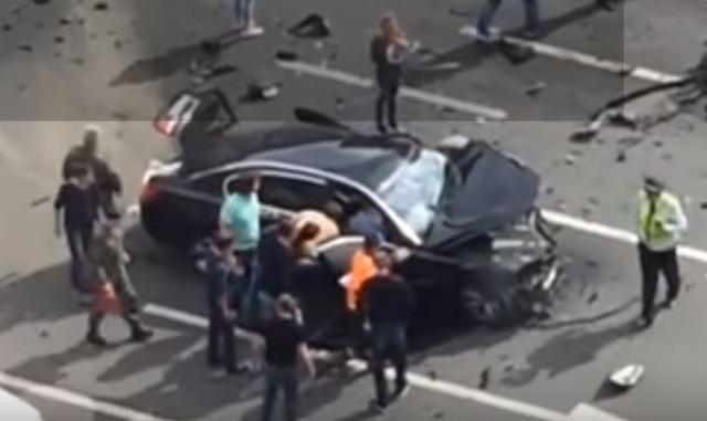 Zrážka Putinovho prezidentského auta, vodič neprežil
