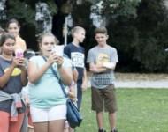 Snímka z podujatia Deň rodiny v Bratislave
