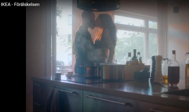 Snímka z reklamy IKEA