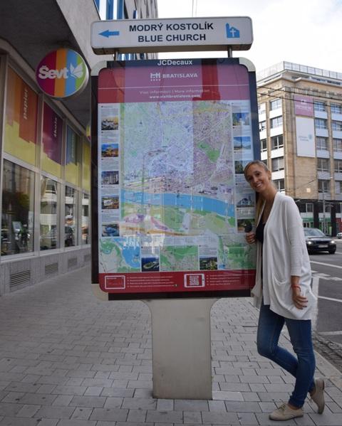 Orientácia turistov v Bratislave bude o čosi jednoduchšia