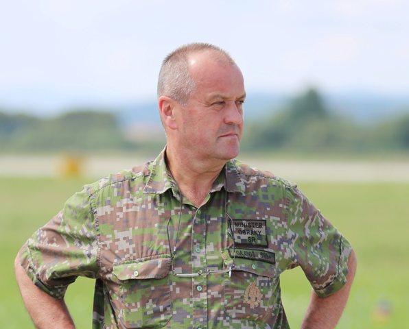 Na snímke minister obrany Slovenskej republiky Peter Gajdoš