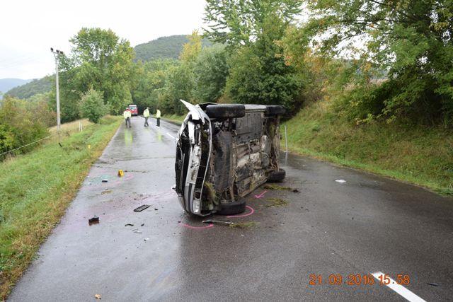 Tragická dopravná nehoda pri Hornej Vsi