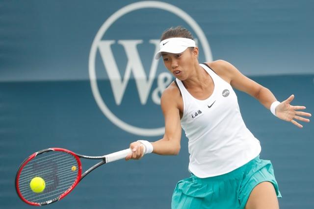 Na snímke čínska tenistka Šuaj Čang