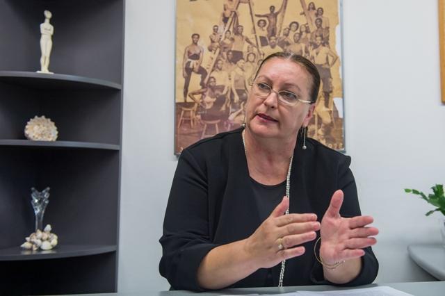 Na snímke Katarína Zacharová - riaditeľka Tanečného konzervatória Evy Jaczovej v Bratislave