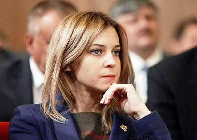 Na snímke Natália Poklonskaja