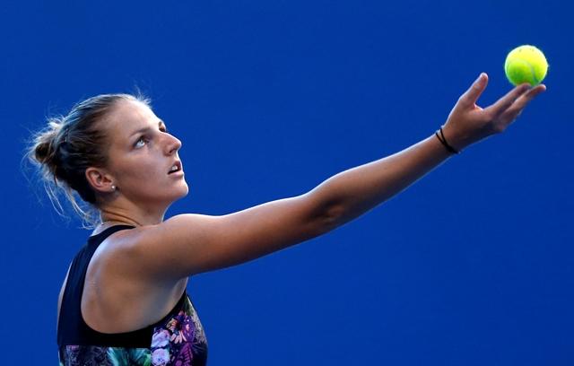 Na snímke česká tenistka Kristýna Plíšková