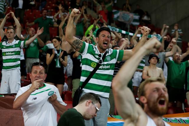 Fanúšikovia Celticu Glasgow