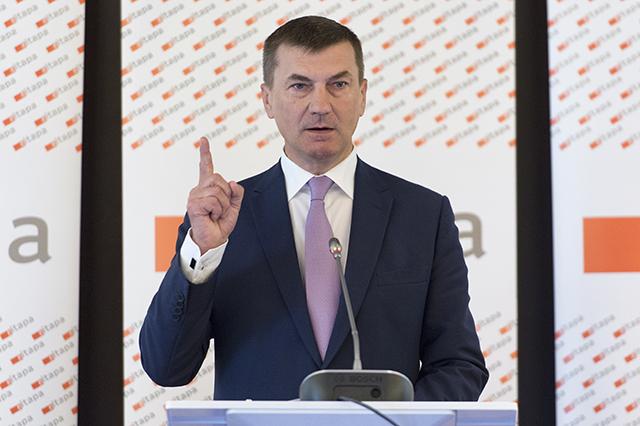 Na snímke podpredseda EK pre Jednotný digitálny trh Andrus Ansip