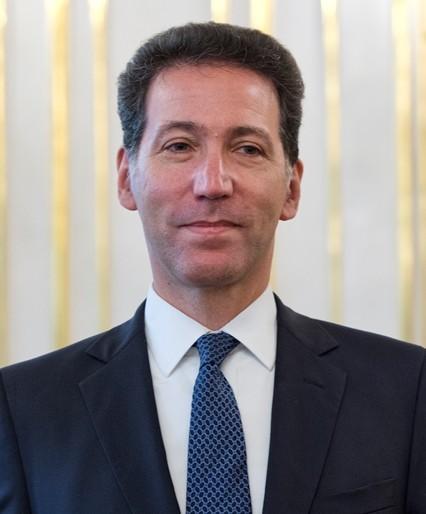 Na snímke mimoriadny a splnomocnený veľvyslanec Spojených štátov amerických v SR so sídlom v Bratislave Adam H. Sterling