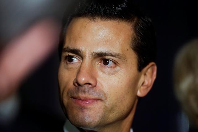 Na snímke mexický prezident Enrique Pena Nieto