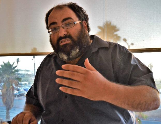 Na nedatovanej snímke Yehuda Shaul