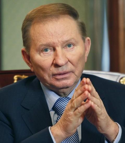 Na snímke Leonid Kučma