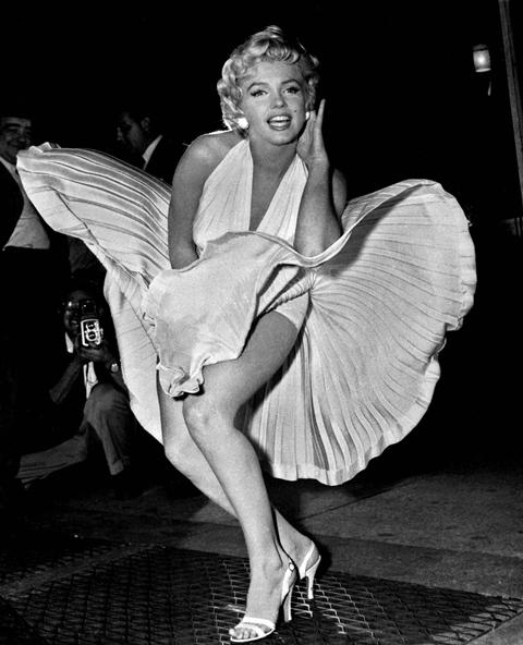 Na snímke Marilyn Monroe