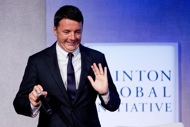 Taliansky premiér Matteo Renzi