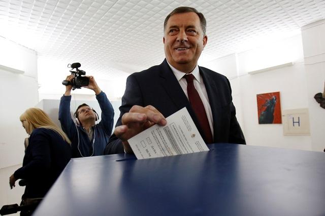 Prezident bosnianskej Republiky Srbskej (RS) Milorad Dodik
