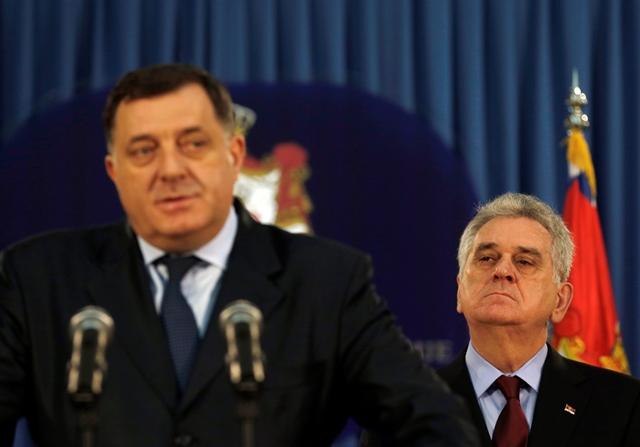 Na snímke Milorad Dodik